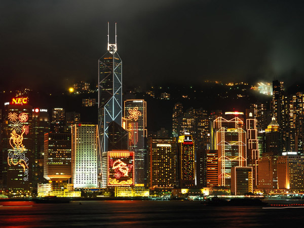 HongKong-at-night